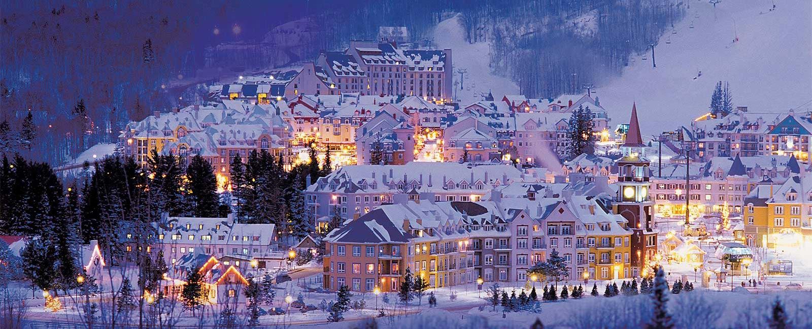 Tremblant village